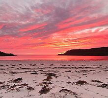 Sunset at Calgary Bay by George Cox