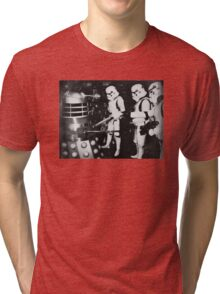Troops On Fire Tri-blend T-Shirt