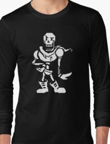 undertale - skeleton Long Sleeve T-Shirt