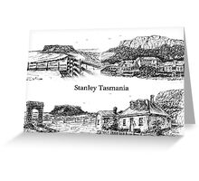 Four views of Stanley by Ian (Ruckrova) Shiel 2015 Greeting Card