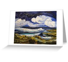 South Coast The Wild Coast Is Lonely Greeting Card