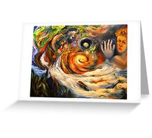 Longing To Touch The Night Sky Greeting Card