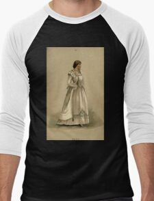 Fancy dresses described or What to wear at fancy balls by Ardern Holt 148 Hero Men's Baseball ¾ T-Shirt