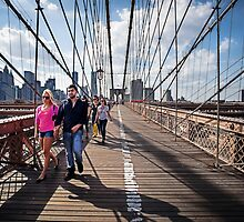 Strolling Brooklyn Bridge by Photonook