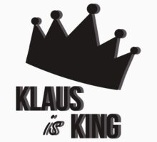 Klaus Is King One Piece - Short Sleeve