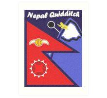 Nepal Quidditch Art Print