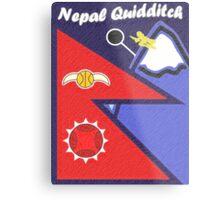 Nepal Quidditch Metal Print