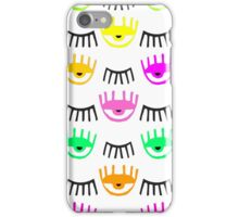 Eyes and Lashes iPhone Case/Skin