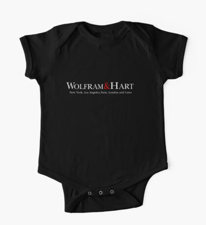 Wolfram and Hart Angel T-Shirt One Piece - Short Sleeve