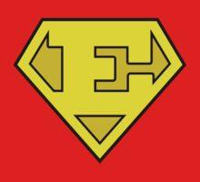 Super Bold & Gold E Logo by adamcampen