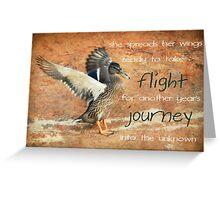 Her Birthday - Take Flight Greeting Card