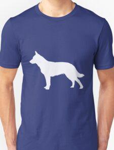 Blue Heeler Silhouette Unisex T-Shirt
