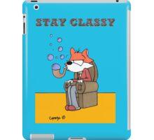 Bubble Fox: Stay Classy iPad Case/Skin