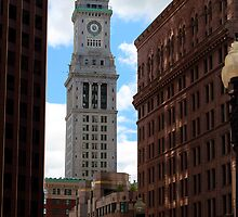 Boston Custom House by Jada  Benjamin