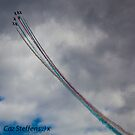 Red Arrows Brightening Up The Skies of Dawlish! by CazSteffens