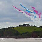 Dawlish Air show Red Arrows - Parson & Clark by CazSteffens