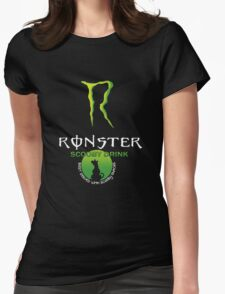 Ronster Energy Drink Womens Fitted T-Shirt