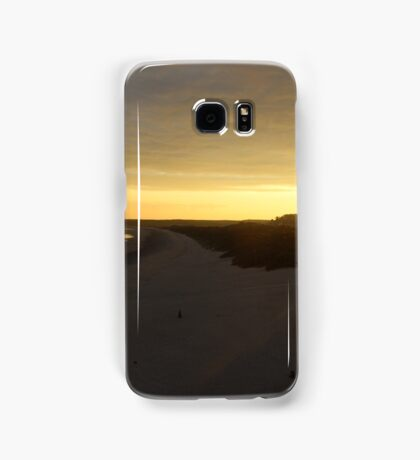 Tenby sunset Samsung Galaxy Case/Skin