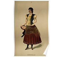 Fancy dresses described or What to wear at fancy balls by Ardern Holt 110 Esmeralda Poster