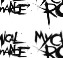 My Chemical Romance, blurry  Sticker