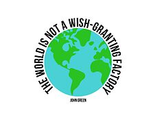 the world is not a wish granting factory - tfios by totallyanita