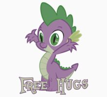 Spike Free Hugs One Piece - Short Sleeve
