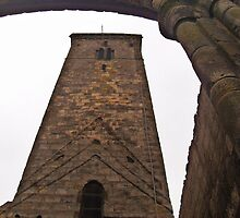 St Rule's Tower, St. Andrews, Scotland.    by LBMcNicoll