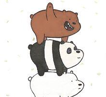 We Bare Bears by cobrachampagne