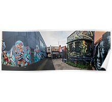 Street Art, Fitzroy Poster