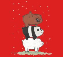 We Bare Bears Baby Tee