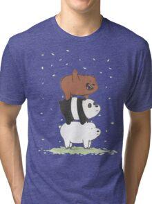 We Bare Bears Tri-blend T-Shirt
