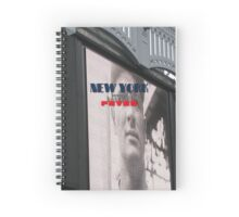 New York Home of Baseball Fever Spiral Notebook