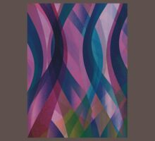 Abstract background One Piece - Short Sleeve
