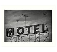 Motel # 1 Art Print