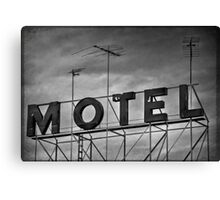 Motel # 1 Canvas Print