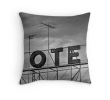 Motel # 1 Throw Pillow