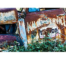 Rusty Truck #1 Photographic Print