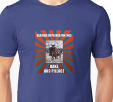Hearing Impaired Vikings Unisex T-Shirt