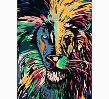 Lion multi colors closeup Classic T-Shirt