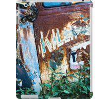 Rusty Truck #1 iPad Case/Skin