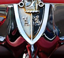 1956 Plymouth Emblem by Jill Reger