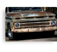 Rusty Chevy Canvas Print