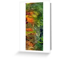 Summer Triptych III Greeting Card