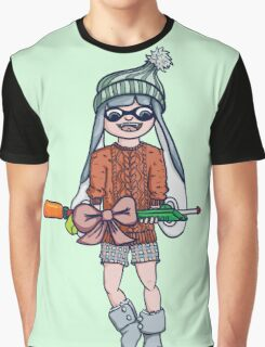 Christmas Splatoon Inkling  Graphic T-Shirt