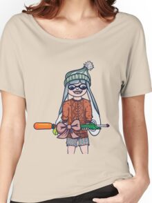 Christmas Splatoon Inkling  Women's Relaxed Fit T-Shirt