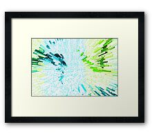 Abstract - Be Happy Framed Print