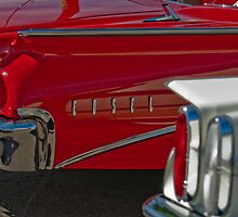 1960 Edsel Taillights 2 by Jill Reger