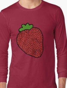 Strawberry Fruit Long Sleeve T-Shirt