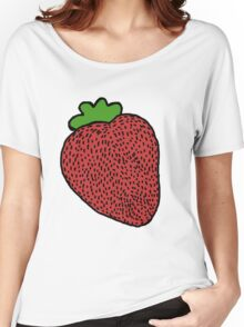 Strawberry Fruit Women's Relaxed Fit T-Shirt