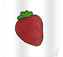 Strawberry Fruit Poster
